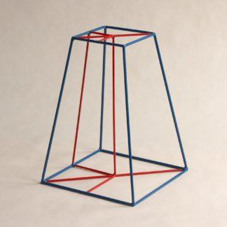 Stumpfe vierseitige Pyramide